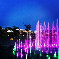 Photo taken at Setia City Park by KC L. on 9/29/2013