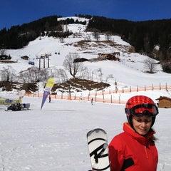 Photo taken at Skigebiet Schlossalm - Angertal / Ski amadé by Dimitar B. on 3/8/2013