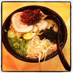 Photo taken at Ajisen Ramen by Saurav T. on 4/22/2013