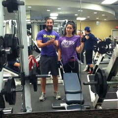 Photo taken at LA Fitness by Sam S. on 4/12/2013