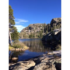 Photo taken at Desolation Wilderness by Paulina on 9/29/2013