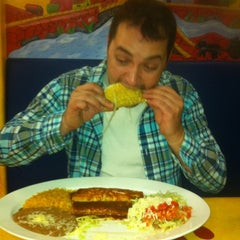 Photo taken at El Meson Mexican Restaurant by Sarah R. on 10/29/2012