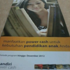 Photo taken at Mandiri by Petra A. on 11/29/2012