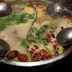 Photo taken at Little sheep Mongolian Hot Pot by Cecilia K. on 5/17/2014