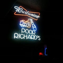 Photo taken at Poor Richard's by Joshua S. on 11/7/2013