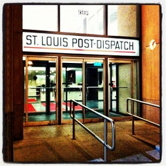 Photo taken at St. Louis Post-Dispatch by Kris J. on 10/20/2012