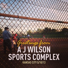 Photo taken at AJ Wlson Sports Complex by Michael S. on 5/11/2013
