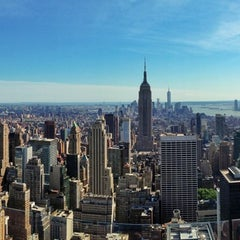 Photo taken at Top of The Rock Observation Deck by Anthony G. on 6/5/2013