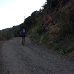 Photo taken at Carretera de les Aigües by Diana P. on 7/25/2013