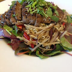 Photo taken at Wagamama by Marcus Aurelius on 5/18/2013