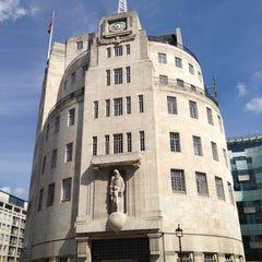 Photo taken at BBC Broadcasting House by Sue L. on 6/20/2012
