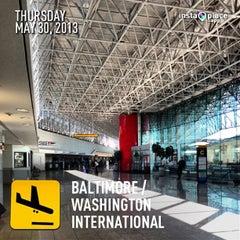 Photo taken at Baltimore / Washington International Thurgood Marshall Airport (BWI) by Rodrigo J. on 5/30/2013