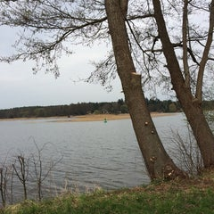 Photo taken at Haus am See by Paul F. on 4/5/2014