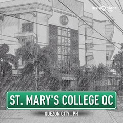 Photo taken at St. Mary's College QC by Onassis Y. on 7/27/2013