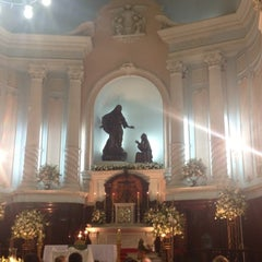 Photo taken at Igreja Matriz Santa Margarida Maria by Viviane A. on 11/17/2012