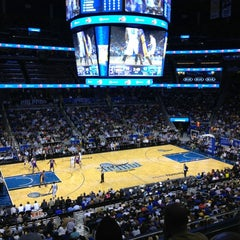 Photo taken at Amway Center by Onur M. on 3/12/2013