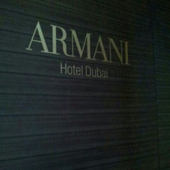 Photo taken at Armani Hotel by Mohammed A. on 11/20/2012