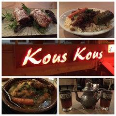 Photo taken at Kous Kous Moroccan Bistro by Karim on 3/9/2015