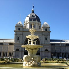 Photo taken at Royal Exhibition Building by Karim on 1/27/2013