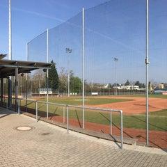 Das Foto wurde bei Mainz Athletics Ballpark von Tanja W. am 4/10/2016 aufgenommen