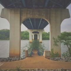 Photo taken at Robinson Bridge by Joel F. on 5/16/2015