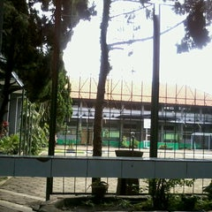 Photo taken at SMPN 45 Bandung by Ananda P. on 2/16/2013