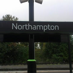 Photo taken at Northampton Railway Station (NMP) by Matthew M. on 10/23/2012