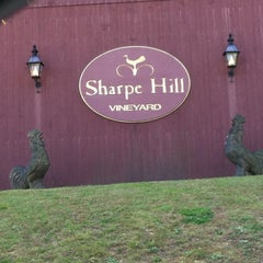 Photo taken at Sharpe Hill Vineyard by Wayne H. on 11/3/2012