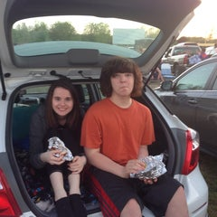 Photo taken at US 23 Drive-In Theater by Matt B. on 5/25/2014