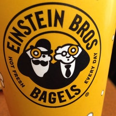 Photo taken at Einstein Bros Bagels by Jeff C. on 11/7/2013