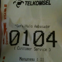 Photo taken at GeraiHALO Telkomsel by AR. B. on 2/15/2013