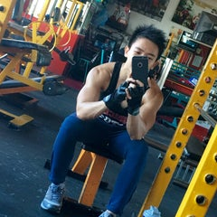 Photo taken at Muscle Mania Fitness Gym by brian b. on 1/3/2016