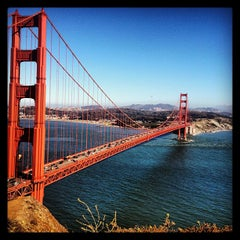 Photo taken at Golden Gate Bridge by Diogo D. on 6/21/2013