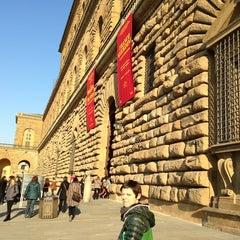 Photo taken at Palazzo Pitti by valenti m. on 3/16/2013