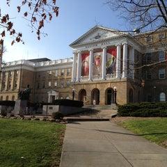 Photo taken at Bascom Hall by Steve D. on 12/2/2012