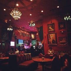 Photo taken at Paymon's Mediterranean Cafe & Hookah Lounge by Aleksei O. on 11/6/2014