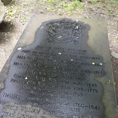 Photo taken at King's Chapel Burying Ground by Bill L. on 6/14/2013