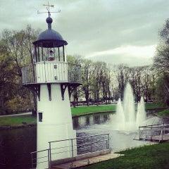 Photo taken at Kronvalda parks by Silga R. on 5/10/2013