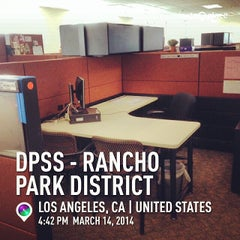 Photo taken at Rancho Park DPSS by Tolitz R. on 3/15/2014