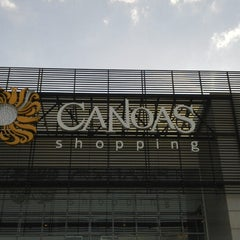 Photo taken at Canoas Shopping by Franciele C. on 4/17/2013