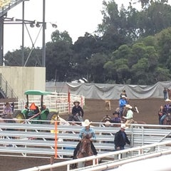 Photo taken at California Rodeo Salinas by Janet F. on 7/17/2015