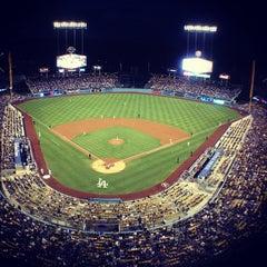 Photo taken at Dodger Stadium by Alex A. on 6/12/2013