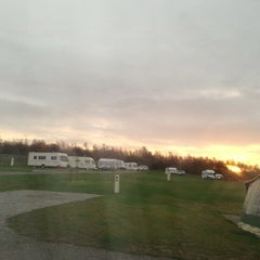 Photo taken at Conkers Camping and Caravanning Club Site by Mike N. on 11/19/2012