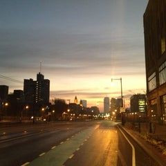 Photo taken at Boston University Bridge by Yoav S. on 11/12/2012