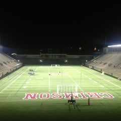 Photo taken at Harvard Stadium by Yoav S. on 4/5/2013