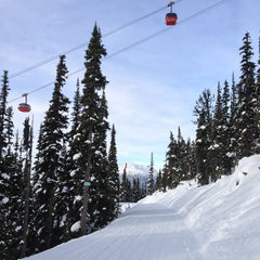 Photo taken at Whistler Village Gondola by Haley B. on 1/3/2013
