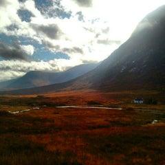 Photo taken at Glencoe Visitors Centre by Flavia V. on 10/21/2012