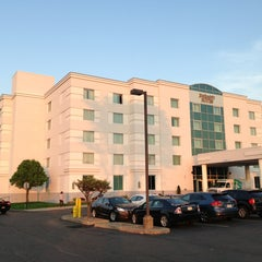 Photo taken at Embassy Suites by Hilton Syracuse by Bryan S. on 6/6/2013