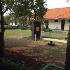 Photo taken at Museum Gedung Joang '45 by Kareen N. on 11/18/2015