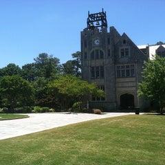Photo taken at Oglethorpe University by Wesley C. on 5/24/2013